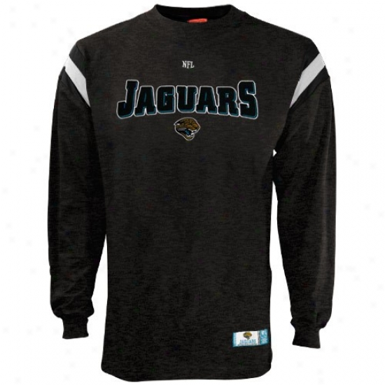 Jags Attire: Jags Charcoal Vintage Pride Long-winded Sleeve T-shirt