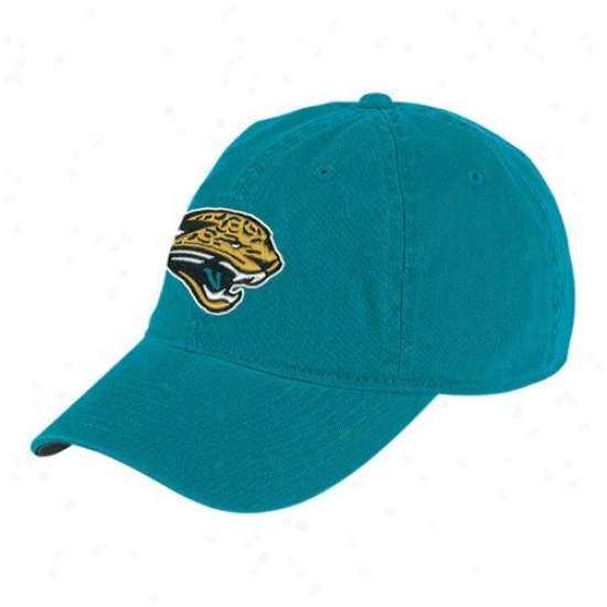 Jags Hats : Reebok Jags Teal Youth Basic Logo Slouch Hats