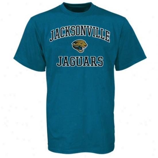 Jags Shirt : Jags Teal Heart & Soul Shirt