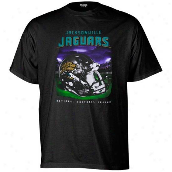 Jags Shirt : Reebok Jags Black Reflection Shirt