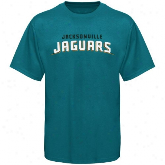 Jags Shirts : Reebok Jags Teal Team Wordmark Shirts