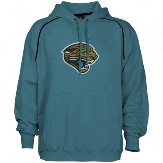 Jags Sweat Shirt : Jags Teal Classic Logo Sweat Shirt