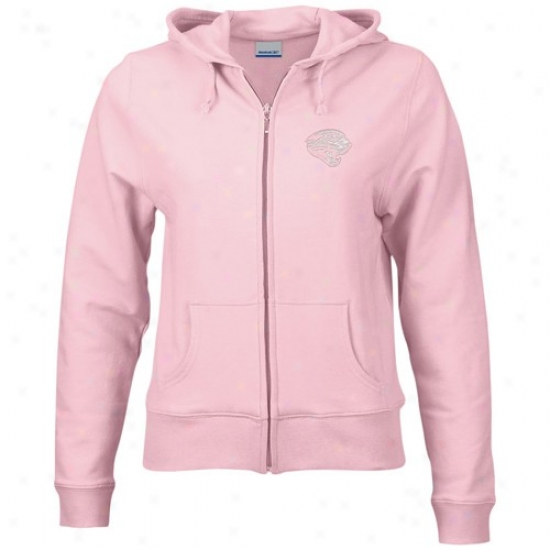 Jags Sweatshirt :R eebok Jags Ladies Pink Full Zip Alert Sweatshirts