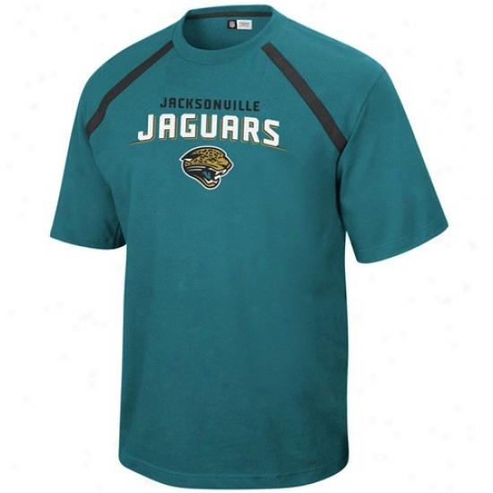 Jags T-shirt : Jags Teal Victory Gear T-shirt