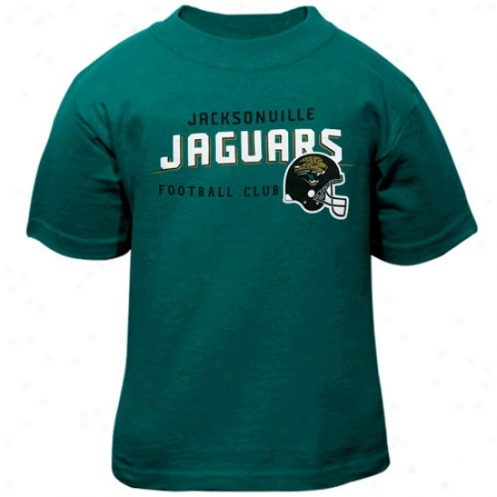 Jags T-shirt : Reebok Jags Toddler Teal The Call Is Tails T-shirt