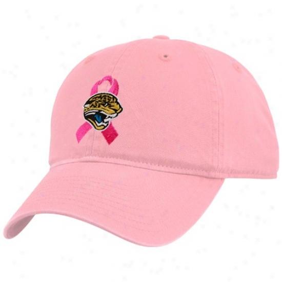 Jaguars Crown : Jaguars Ladies Pink Breast Cancer Awareness Admustable Cap