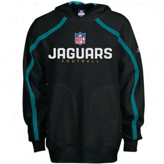 Jaguars Swae Shirt : Reebok Jaguars Youth Black Team Valiant Toil Shirt