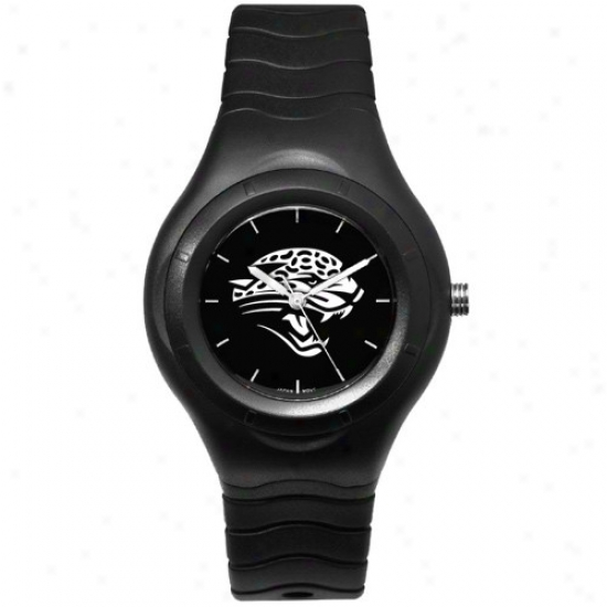 Jaguars Wrist Watch : Jaguars Black Typify Team Logo Sport Wrist Watch