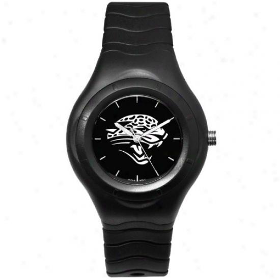 Jaguars Wrist Watch : Jaguars Black Typify Team Logo Sport Wrist Watch