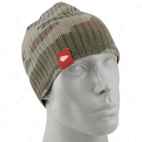 Kansas City Chief Merchandkse: Reebok Kansas City Chief Camouflage Lifestyle Knit Beanie