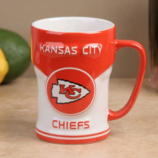 Kansas City Chiefs 12oz. Sideline Sculpted Mug