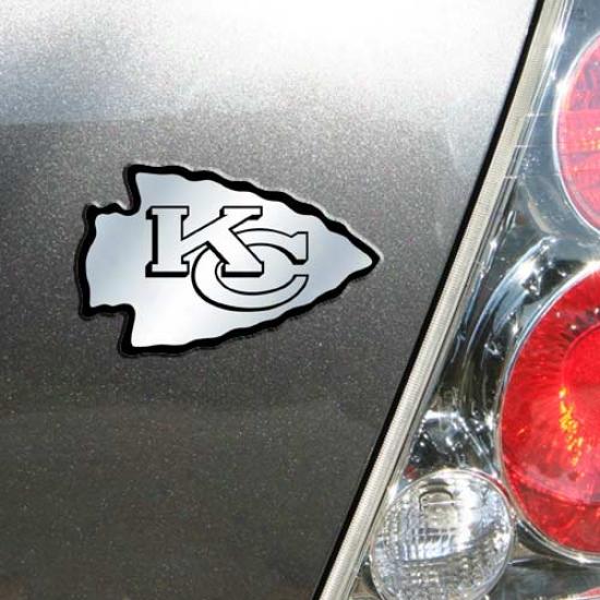 Kansas City Chiefs Auto Emblem