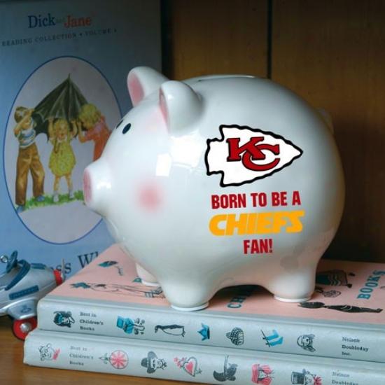Kansas City Chiefs Born To Be Piggy Bank
