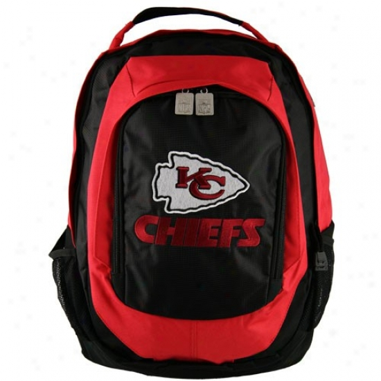 Kansas City Chiefs Embroidered Team Logo Backpack