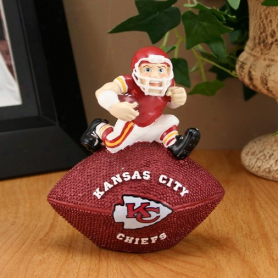 Kansas City Chiefs Football Paperweight