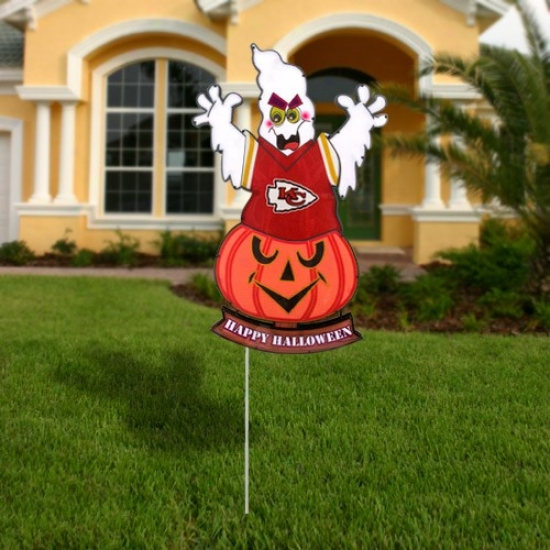 Kansas City Chiefs Halloween Light-up Ghost Figurine