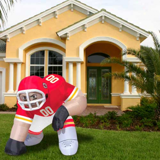 Kansas City Chiefs Inflatable Bubba Mascot