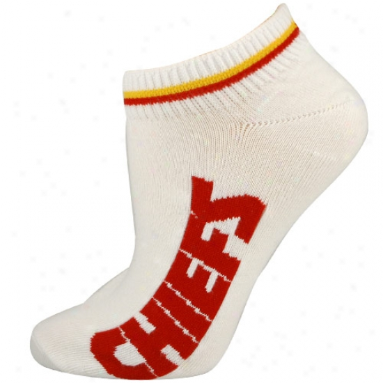 Kansas City Chiefs Ladies Of a ~ color (529) 9-11 Ankle Socks