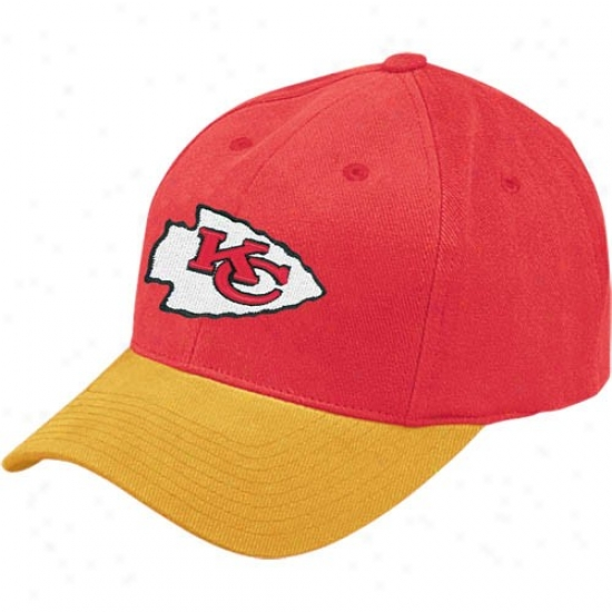 Kansas City Chiefs Merchandise: Reebok Kansas City Chiefs Red Youth Basic Logo Cardinal's office