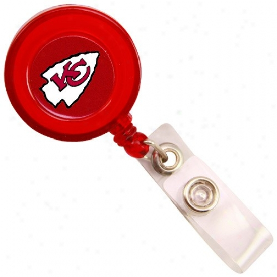 Kansas City Chiefs Red Badge Reel