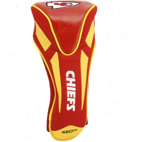 Kansas City Chiefs Red-goldd Jumbo Apex Headcover