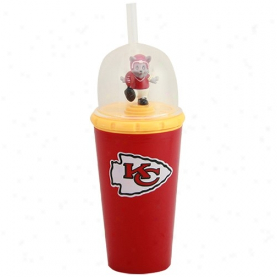 Kansas Ctty Chiefs Red Wind-up Mascot Cup