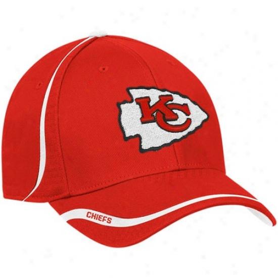 Kc Chiefs Hats : Reebok Kc Chiefs Red Coaches Flex Hats