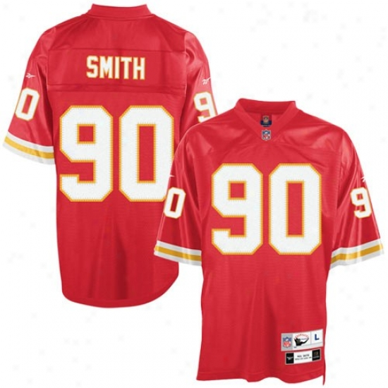 Kc Chiefs Jerseys : Reebok Kc Chiefs #90 Neil Forge Red Tackle Twill Throwback Football Jerseys