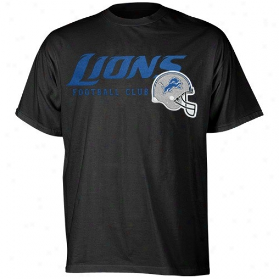 Lions Tee : Reeb0k Lions Black The Call Is Tails Tee