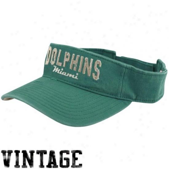 Miami Dolphin Hats : Reebok Miami Dolphin Aqua Gws Visor