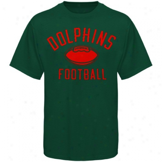 Miami Dolphin T Shirt : Reebok Miami Dolphin Youth Aqua Workout T Shirt