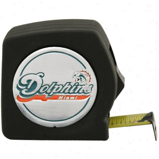 Miami Dolphins 25ft Tape Measure