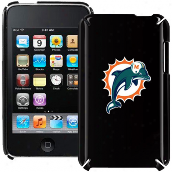 Miami Dolphins Black Ipod Touch Hard Shell