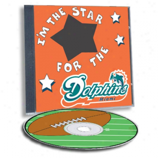 Miami Dolphins Game Hero Custom Sports Cd