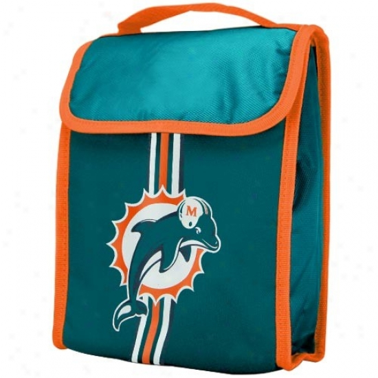 Miami Dolphins Insulated Nfl Lunch Bag