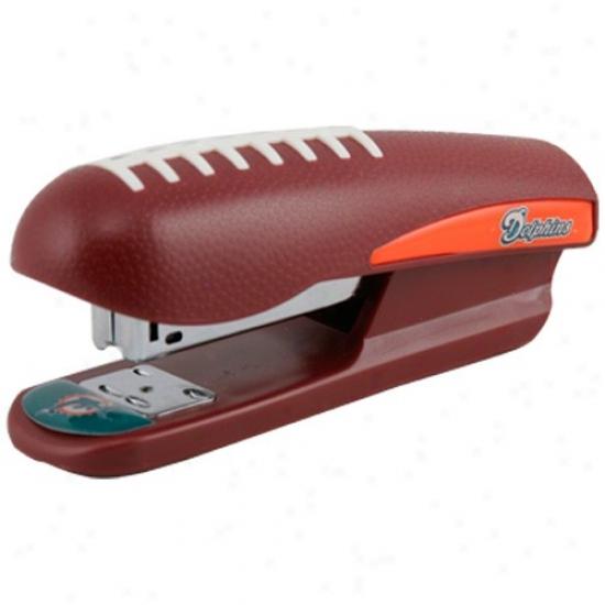 Miami Dolphins Pro-grip Football Stapler