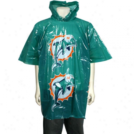 Miami Dolphins Short Sleeve Poncho