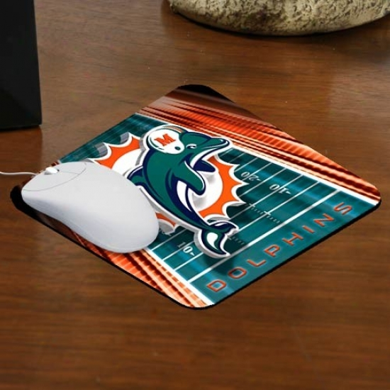 Miami Dolphins Team Logo Mousepad