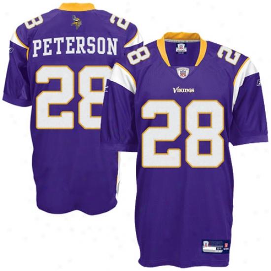 Minnesota Viking Jerseys : Reebok Minnesota Viking #28 Adrian Peterson Purple Authentic Football Jersey