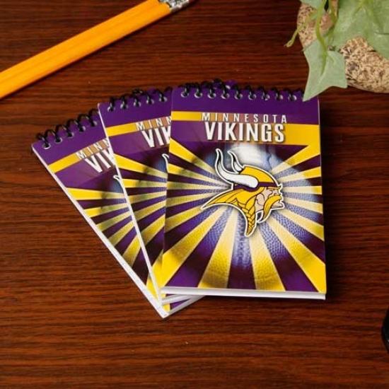 Minnesota Vikings 3-pack Memo Books