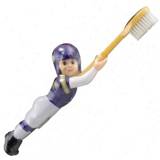Minnesota Vikings Football Payer Toothbrush