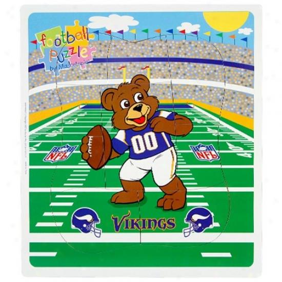 Minnesota Vikings Football Puzzle