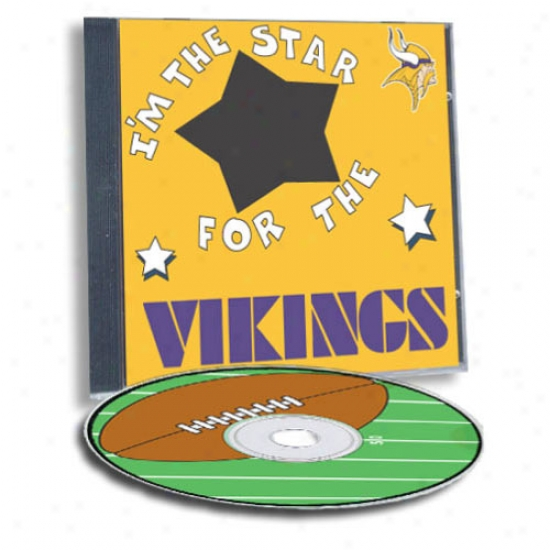Minnesota Vikings Game Hero Custom Sports Cd