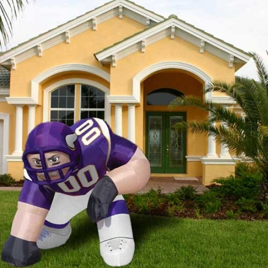 Minnesota Vikings Inflatable Bubba Mascot