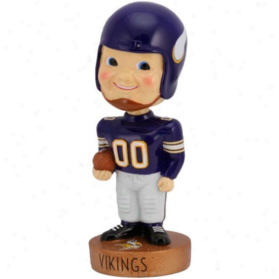 Minnesota Vikings Legacy Bobblehead Figurine