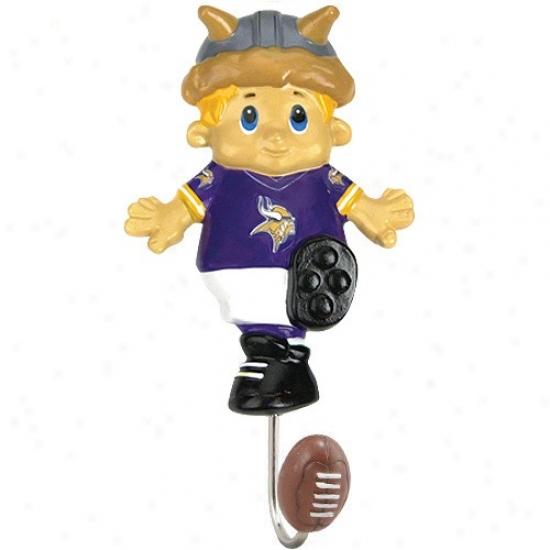 Minnesota Vikings Mascot Wall Hook