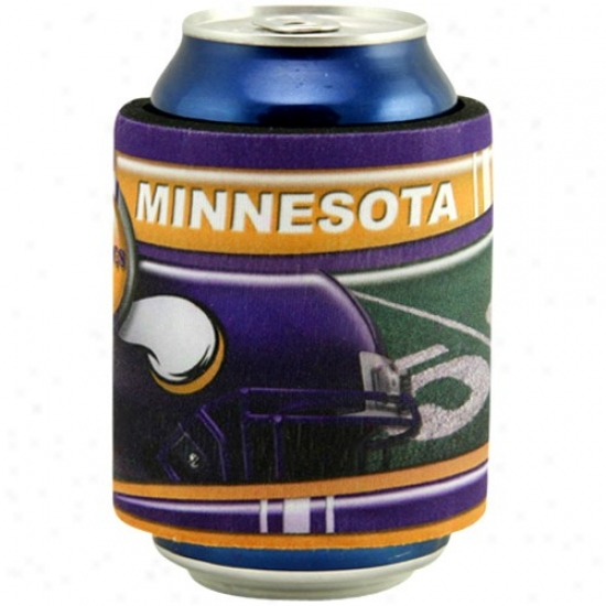 Minnesota Vikings Slap Fold Can Coolie