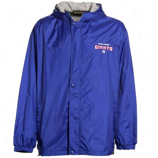 N Y Giants Jacket : N Y Giants Royal Blue Legacy Jacket