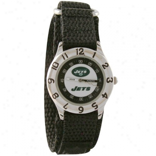 N Y Jet Wake : N Y Jet Youth Green Time Teacher Watch