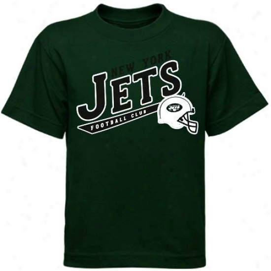 N Y Jets Tee : Reebok N Y Jets Preschool Green The Call Is Tails Tee